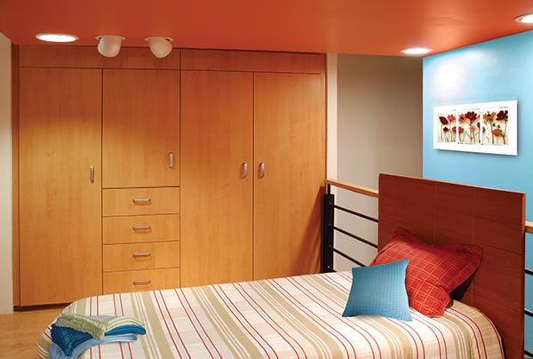 Closets para rec mara acorde for Recamaras modernas con closet