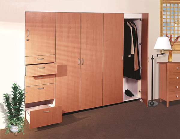 Closets para rec mara acorde for Closet para recamaras modernas