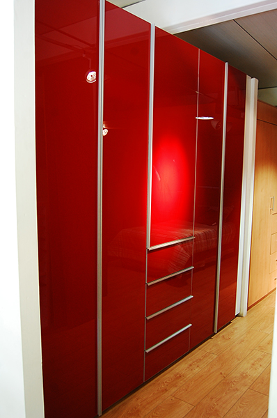 Closets con puertas de cristal acorde - Puertas con cristales de colores ...